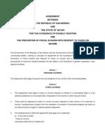 DTC agreement between Qatar and San Marino