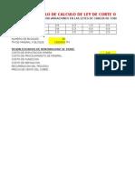 5.0 CALCULO DE LEY DE CORTE O CUT OFF- EJEMPLO PRACTICO YACIMIENTO DE COBRE - RESUELTO.xls