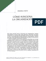 Las Cinco Partes Fudamentales de La Organización - Autor Mintzberg, Henry
