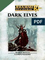 Warhammer- Age of Sigmar - Elfos Oscuros