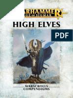 Warhammer- Age of Sigmar - Altos Elfos