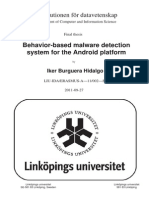 Thesis 2011 BBehavior-based Malware Detection System for the Android Platform