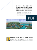 Draft Tata Cara Pembuatan Kolam Retensi Dan Polder 2