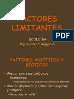 Clase Vii Curso Ecologia Pregrado Vi Factores Limitantes