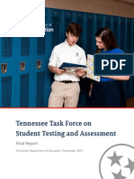 TN Task Force on Student Testing and Assessment Full Report