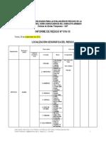 Informe BANDAS MEDELLÍN IR N° 016-10 ANTIOQUIA-Medellín