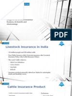 Scope of Livestock Insurance