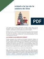 La Navidad a La Luz de La Palabra de Dios - Jorge Aguilar