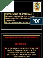 3.- C. GAMARRA - Emergencia Obstetrica II