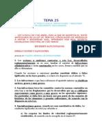 Tema 25 Específico. Infracciones y Sanciones de Tráfico.