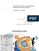 New Insights Into the Interaccion of Carbohidrate And