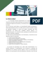 LA UNIVERSIDAD NACIONAL EXPERIMENTAL DE LA SEGURIDAD