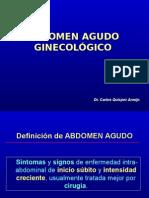 Abdomen Agudo Gineoclogico2015
