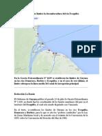 Guyana Pone Bajo Sus Límites La Desembocadura Del Río Esequibo