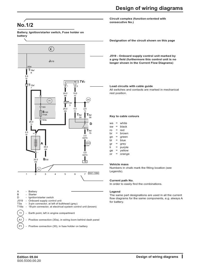 wiring diagrams 04 fabia | fuel injection | diesel engine  scribd