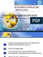 Mercado Internacional de Renta Fija