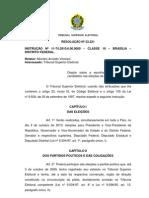 Resolução 23.221 - Registro candidaturas
