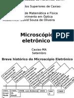 Microscópio Eletronico
