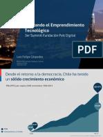 Presentación Ministro de Economía, Luis Felipe Céspedes