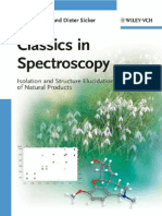 Stefan Berger, Dieter Sicker-Classics in Spectroscopy Isolation and Structure Elucidation of Natural Products-Wiley-VCH (2009)
