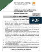 UFF Concurso MARHS2014 Prova FiscalMeioAmbiente