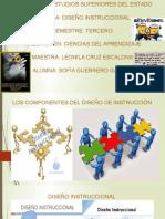Los Componentes Del Diseño de Instrucción