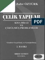 Çelik Yapılar Kitabı (Prof. Dr. a.zafer Öztürk)