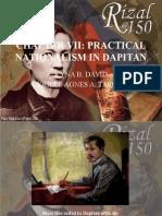 CHAPTER 7 (PRACTICAL NATIONALISM IN DAPITAN) (KYNA B. DAVID, CYRILLE AGNES A. TARROJA).pptx