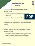 Modelo Factores Especificos