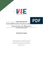 Estratificacion Socioeconomica Encuestas Hogares