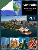 Australia Monografia