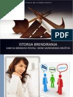 Istorija Brendiranja - Kako Su Brendovi Postali Ikone Savremenog Drustva - Doc. Dr Sladjana Starcevic