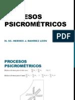Procesos psicrométricos