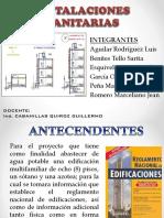 Diapositivas de Inst. Sanitarias