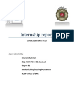 Internship Report Khurram