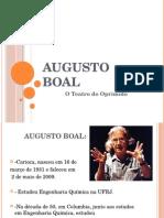 Augusto Boal - Apresentação Grupo