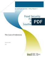 Food Security Policies Indonesia