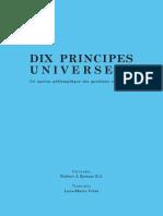 Spitzer - Dix Principes universels