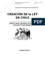 Creacion de Una Ley en Chile