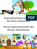 Storie Drammatizzato Dal Nuovo Testamento - Dramatized Stories From the New Testament