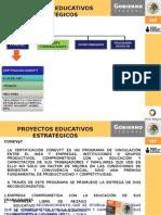 DIAPOSITIVAS PROYECTOS EDUCATIVOS