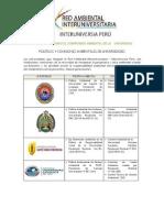 Universidades Con Politica y Comite Ambiental_setiembre 2015