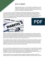 C?mo la Diabetes afecta su h?gado