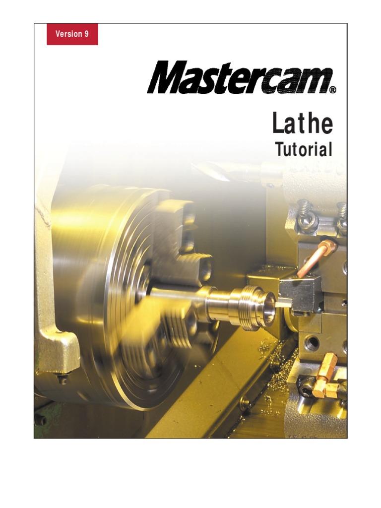 v9 lathe tutorial metric pdf machine tool damages rh scribd com mastercam v9 tutorial video manuale mastercam v9 italiano