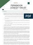 Guía Intervención psicologica y salud
