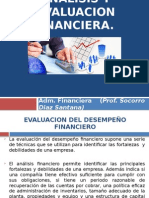 Analisis y Evaluacion Financiera