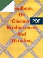 SP-34-1987 Handbook on Reinforcement and Detailing