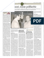 Florenci Mauné vist per Joan Ferrerós