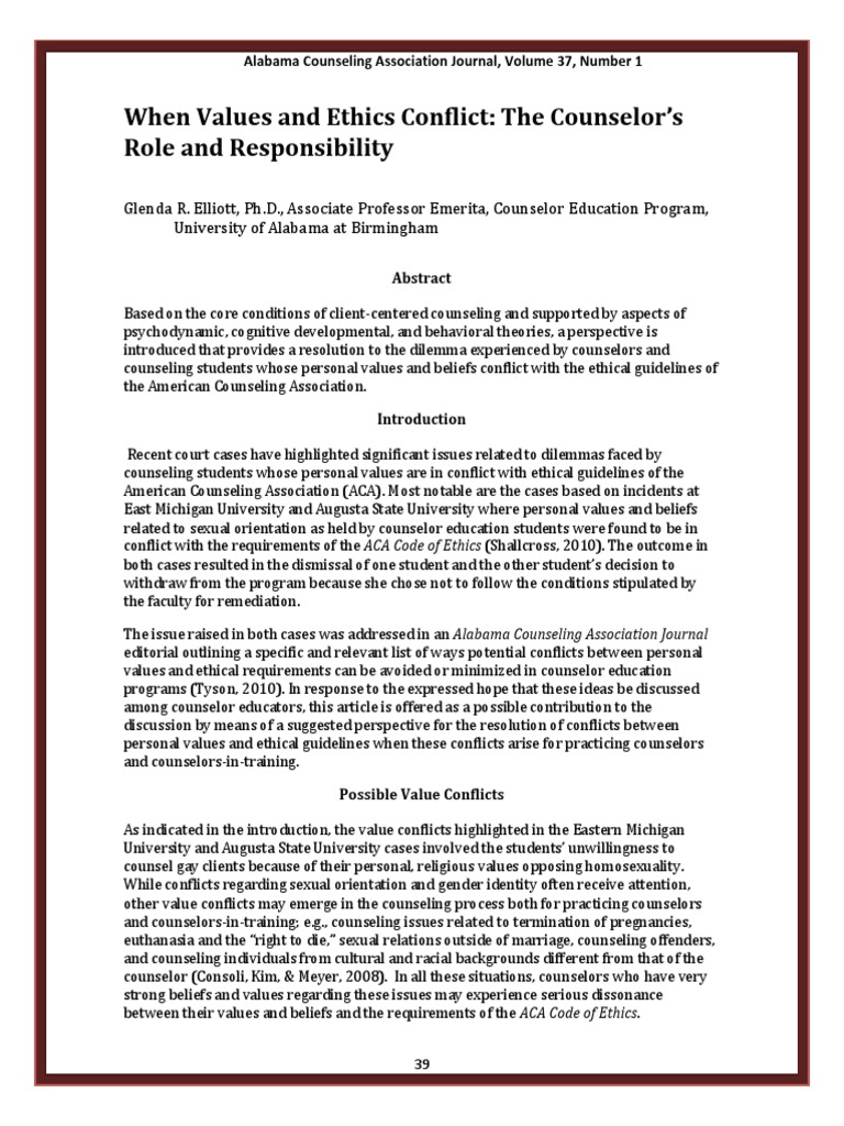 Contoh Artikel Etika Kaunseling School Counselor Empathy