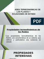 Propiedades Termodinámicas de Los Fluidos